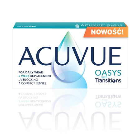 Acuvue® Oasys with Transitions 6 szt.