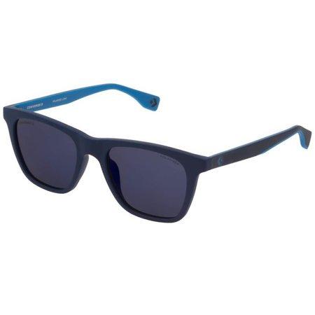 Converse lifestylowe okulary przeciwsłoneczne męskie z polaryzacją, granatowo-niebieskie