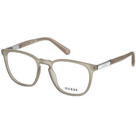Guess beżowe okulary korekcyjne z tworzywa GU 1980 020