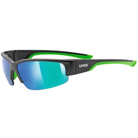 Okulary przeciwsłoneczne Uvex Sportstyle 215 black mat green S5306172716
