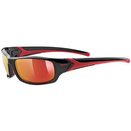 Uvex Sportstyle 211 black red S5306132213